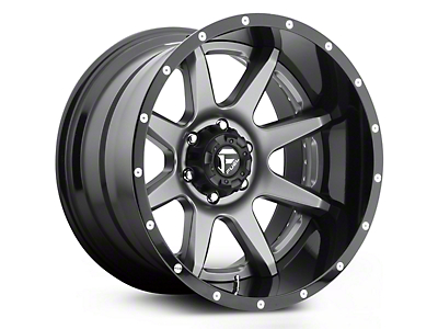 Fuel Wheels Rampage Chrome 5-Lug Wheel - 20x10 (02-18 RAM 1500, Excluding Mega Cab)