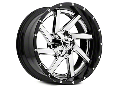 Fuel Wheels Renegade Black & Chrome 5-Lug Wheel - 20x10 (02-18 RAM 1500, Excluding Mega Cab)