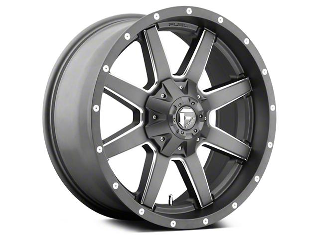 Fuel Wheels Maverick Matte GunMetal 5-Lug Wheel - 20x9 (02-18 RAM 1500, Excluding Mega Cab)