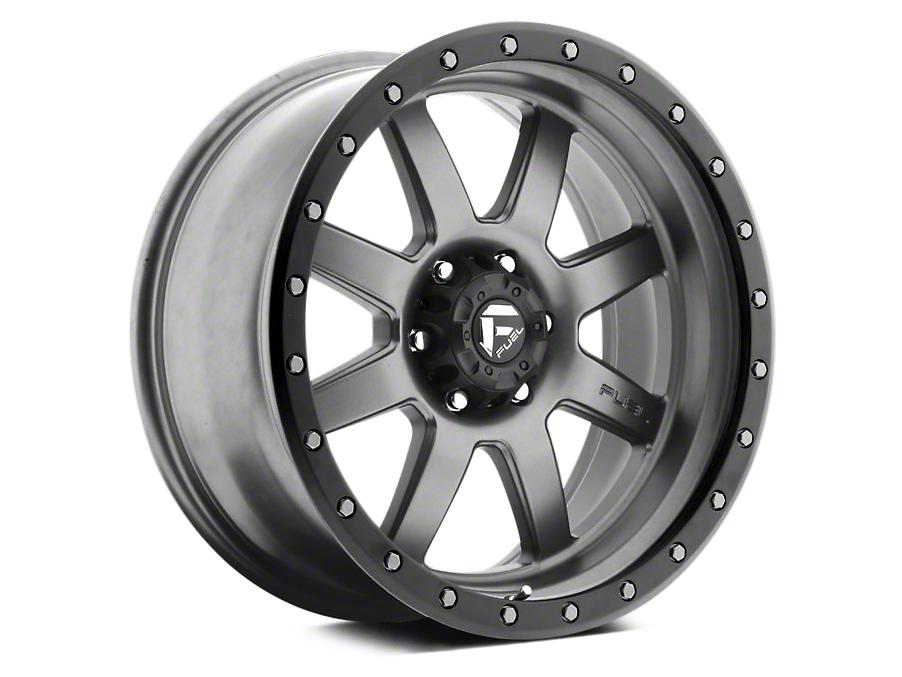 Fuel Wheels Trophy Anthracite w/ Black Ring 5-Lug Wheel - 20x9 (02-18 RAM 1500, Excluding Mega Cab)