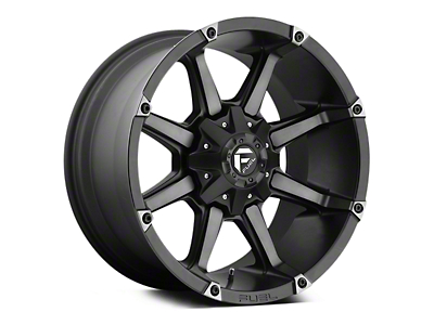 Fuel Wheels Coupler Black Machined 5-Lug Wheel - 18x9 (02-18 RAM 1500, Excluding Mega Cab)