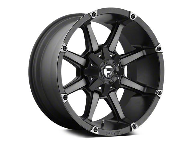 Fuel Wheels Coupler Black Machined 5-Lug Wheel - 20x10 (02-18 RAM 1500, Excluding Mega Cab)