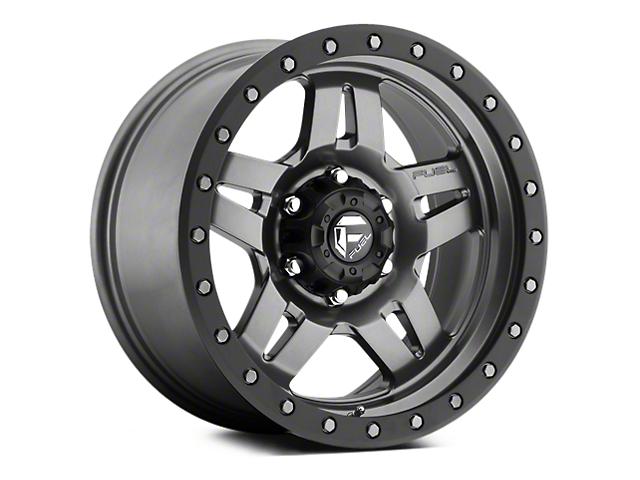 Fuel Wheels Anza Anthracite w/ Black Ring 5-Lug Wheel - 17x8.5 (02-18 RAM 1500, Excluding Mega Cab)