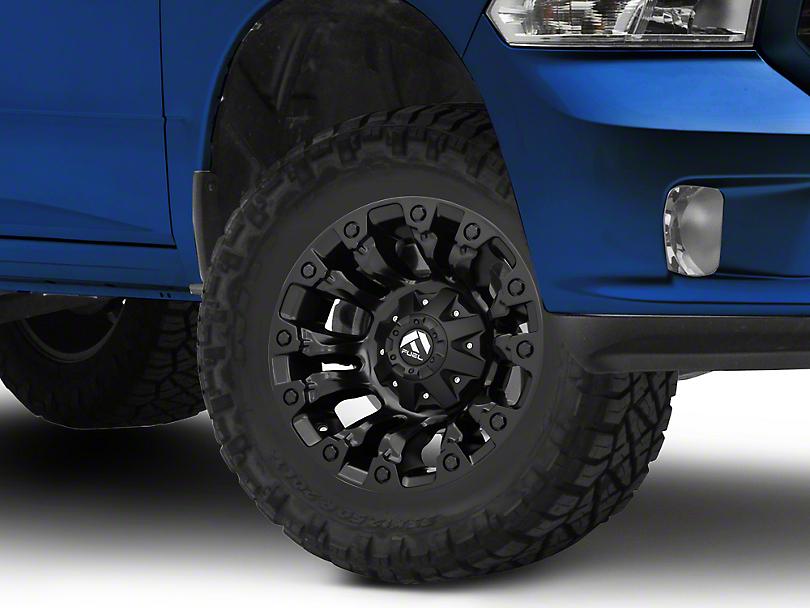 Fuel Wheels Vapor Matte Black 5-Lug Wheel - 17x9 (02-18 RAM 1500, Excluding Mega Cab)
