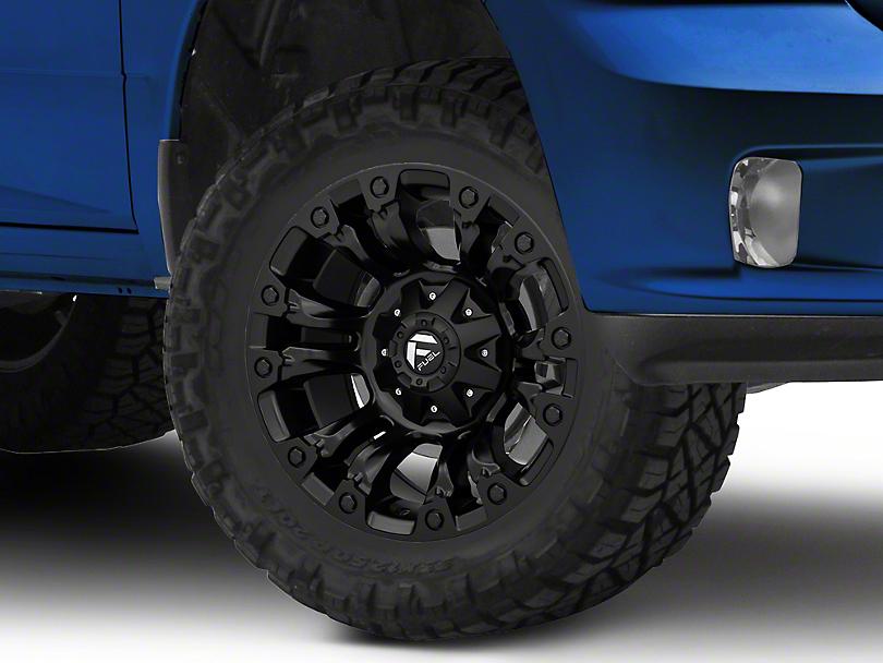 Fuel Wheels Vapor Matte Black 5-Lug Wheel - 18x9 (02-18 RAM 1500, Excluding Mega Cab)