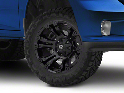 Fuel Wheels Vapor Matte Black 5-Lug Wheel - 20x10 (02-18 RAM 1500, Excluding Mega Cab)