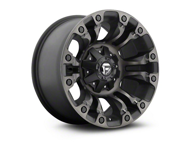 Fuel Wheels Vapor Black Machined w/ Dark Tint 5-Lug Wheel - 18x9; -12mm Offset (02-18 RAM 1500, Excluding Mega Cab)