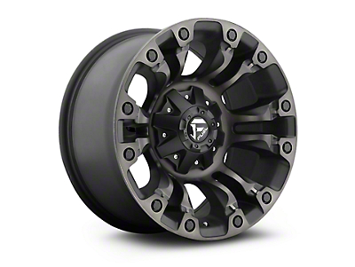 Fuel Wheels Vapor Black Machined w/ Dark Tint 5-Lug Wheel - 18x9 (02-18 RAM 1500, Excluding Mega Cab)