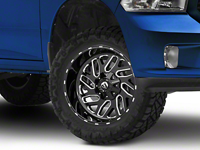 Fuel Wheels Triton Black Milled 5-Lug Wheel - 20x10 (02-18 RAM 1500, Excluding Mega Cab)