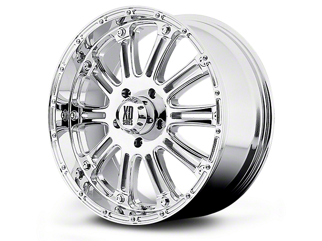 XD Hoss Chrome 5-Lug Wheel - 20x9 (02-18 RAM 1500, Excluding Mega Cab)