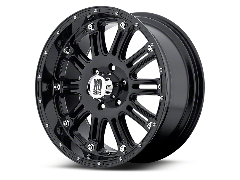 XD Hoss Gloss Black 5-Lug Wheel - 20x9 (02-18 RAM 1500, Excluding Mega Cab)