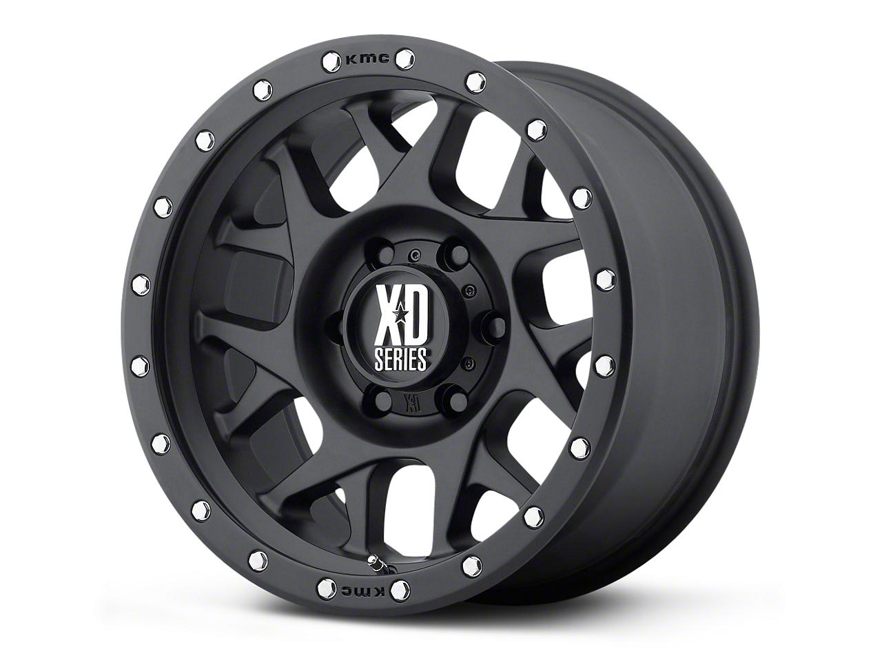 XD Bully Satin Black 5-Lug Wheel - 20x10 (02-18 RAM 1500, Excluding Mega Cab)
