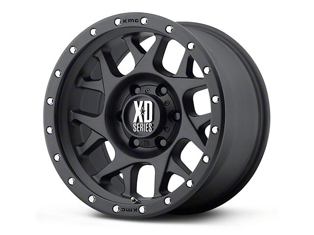 XD Bully Satin Black 5-Lug Wheel - 17x9 (02-18 RAM 1500, Excluding Mega Cab)