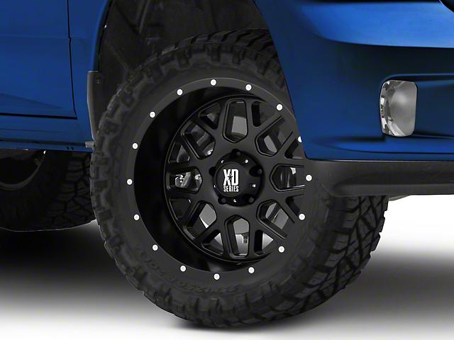 XD Grenade Satin Black 5-Lug Wheel - 20x10; -24mm Offset (02-18 RAM 1500, Excluding Mega Cab)