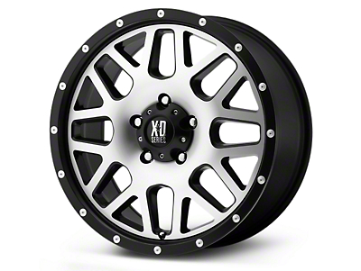 XD Grenade Satin Black 5-Lug Wheel - 22x9.5 (02-18 RAM 1500, Excluding Mega Cab)