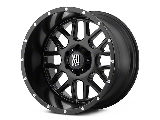 XD Grenade Satin Black 5-Lug Wheel - 18x9 (02-18 RAM 1500, Excluding Mega Cab)