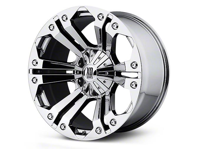 XD Monster Chrome 5-Lug Wheel - 22x9.5 (02-18 RAM 1500, Excluding Mega Cab)