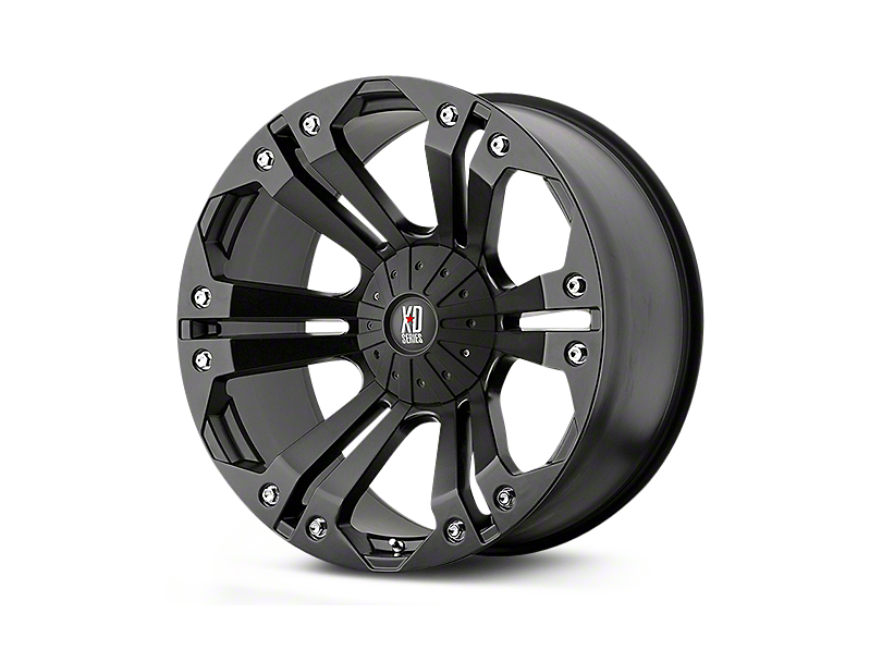 XD Monster Matte Black 5-Lug Wheel - 20x10 (02-18 RAM 1500, Excluding Mega Cab)