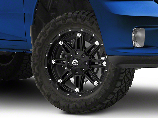 XD Monster II Matte Black 5-Lug Wheel - 20x10 (02-18 RAM 1500, Excluding Mega Cab)