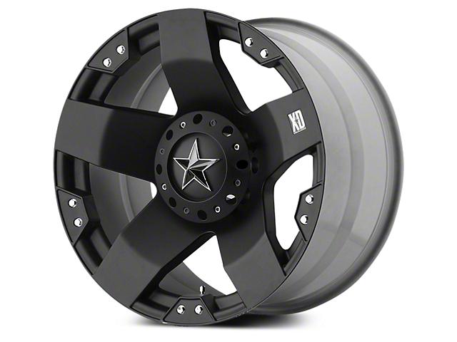 Rockstar XD775 Matte Black 5-Lug Wheel - 20x8.5 (02-18 RAM 1500, Excluding Mega Cab)