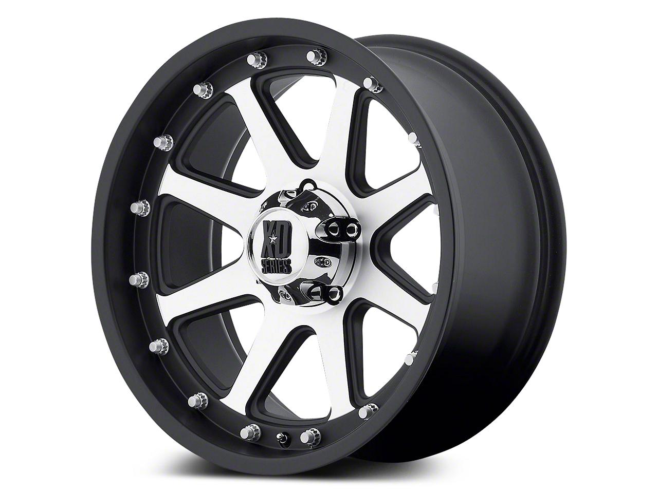 XD Addict Matte Black Machined 5-Lug Wheel - 20x9 (02-18 RAM 1500, Excluding Mega Cab)