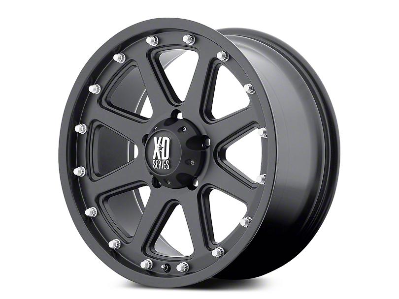 XD Addict Matte Black 5-Lug Wheel - 17x9 (02-18 RAM 1500, Excluding Mega Cab)