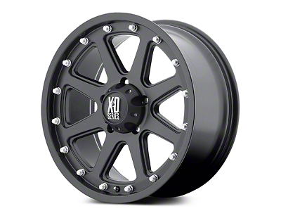 XD Addict Matte Black 5-Lug Wheel - 17x9 (02-18 RAM 1500, Excluding Mega Cab)