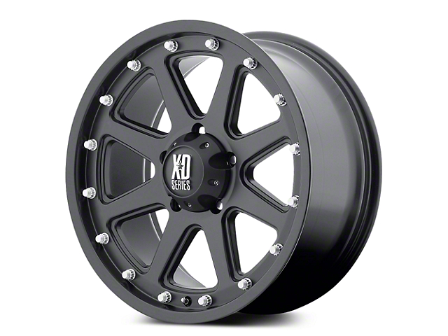 XD Addict Matte Black 5-Lug Wheel - 18x9 (02-18 RAM 1500, Excluding Mega Cab)
