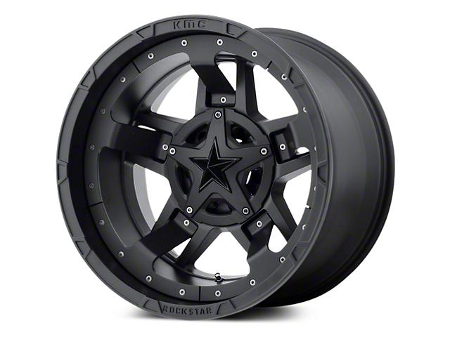 Rockstar XD827 RS3 Matte Black 5-Lug Wheel - 20x10 (02-18 RAM 1500, Excluding Mega Cab)