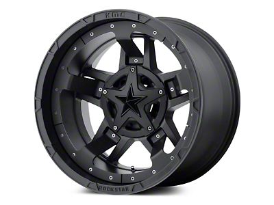 Rockstar XD827 RS3 Matte Black 5-Lug Wheel - 20x10 (02-18 RAM 1500, Excluding Mega Cab)