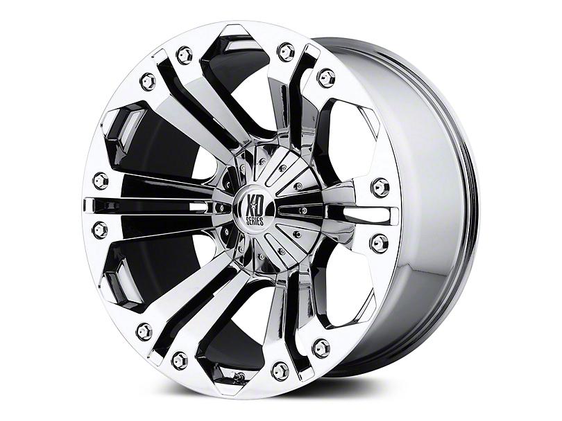 XD Monster Chrome 5-Lug Wheel - 20x9 (02-18 RAM 1500, Excluding Mega Cab)