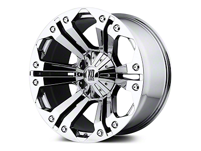 XD Monster Chrome 5-Lug Wheel - 20x9 (02-18 RAM 1500, Excluding Mega Cab)
