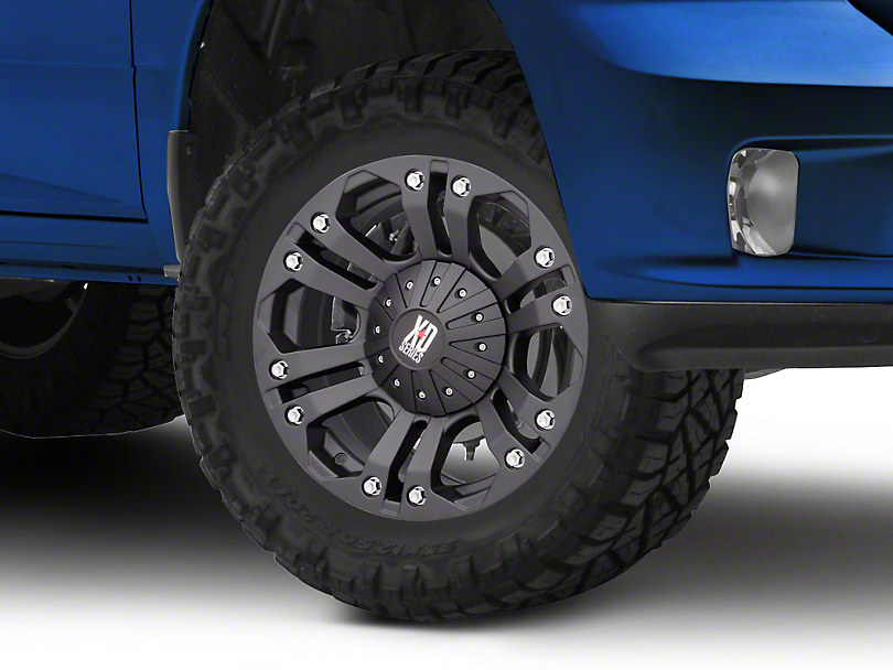 XD Monster Matte Black 5-Lug Wheel - 18x9 (02-18 RAM 1500, Excluding Mega Cab)