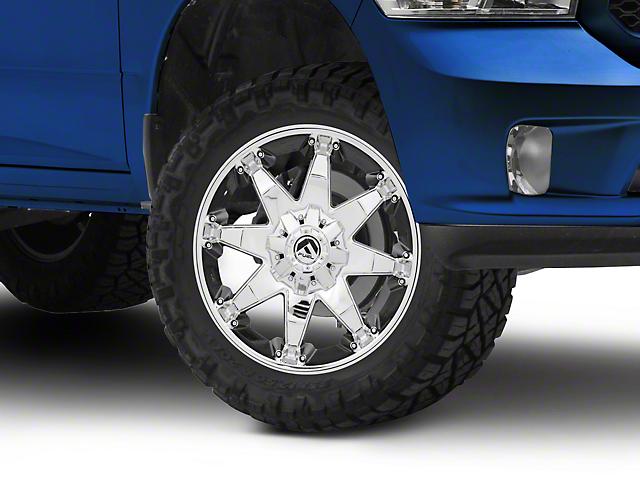 Fuel Wheels Octane Chrome 5-Lug Wheel - 20x9 (02-18 RAM 1500, Excluding Mega Cab)