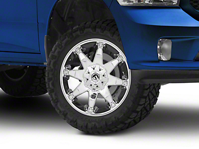 Fuel Wheels Octane Chrome 5-Lug Wheel - 20x9 (02-18 RAM 1500, Excluding Mega Cab)