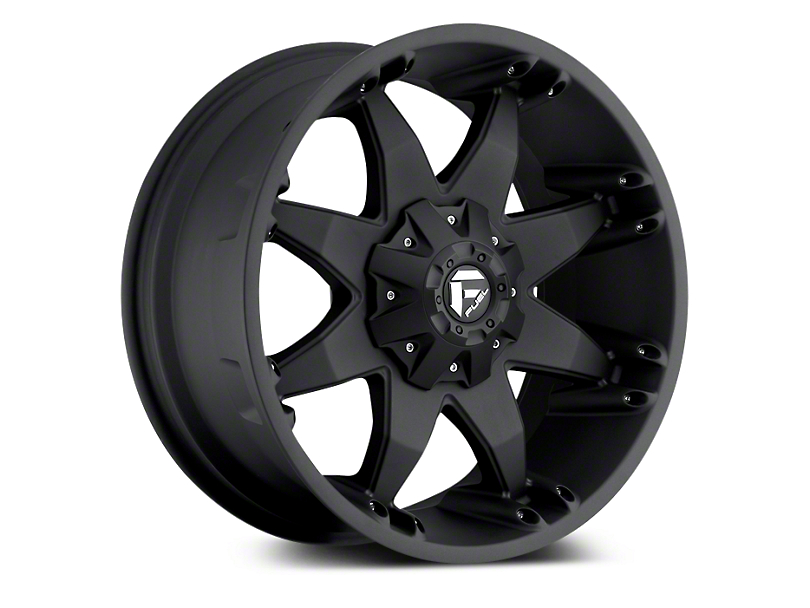 Fuel Wheels Octane Matte Black 5-Lug Wheel - 20x9 (02-18 RAM 1500, Excluding Mega Cab)