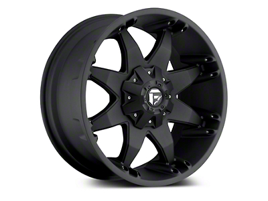 Fuel Wheels Octane Matte Black 5-Lug Wheel - 20x9 (02-18 RAM 1500, Excluding Mega Cab)