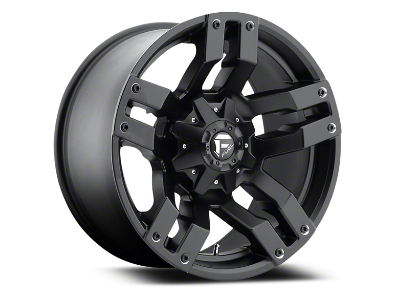 Fuel Wheels Pump Matte Black 5-Lug Wheel - 18x9 (02-18 RAM 1500, Excluding Mega Cab)