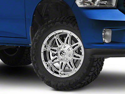 Fuel Wheels Hostage Chrome 5-Lug Wheel - 18x9 (02-18 RAM 1500, Excluding Mega Cab)