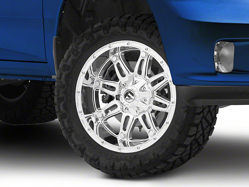 Fuel Wheels Hostage Chrome 5-Lug Wheel - 20x10 (02-18 RAM 1500, Excluding Mega Cab)
