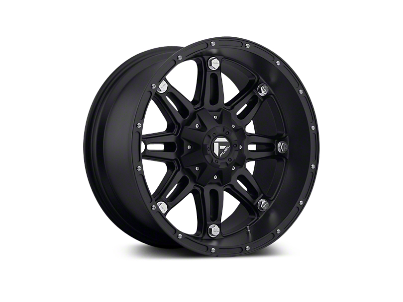 Fuel Wheels Hostage Matte Black 5-Lug Wheel - 18x9 (02-18 RAM 1500, Excluding Mega Cab)