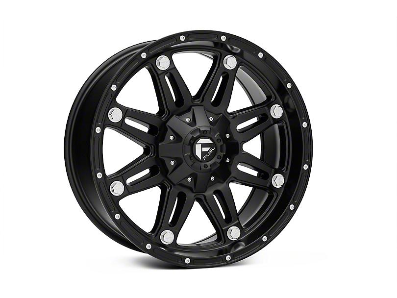 Fuel Wheels Hostage Matte Black 5-Lug Wheel - 20x9 (02-18 RAM 1500, Excluding Mega Cab)