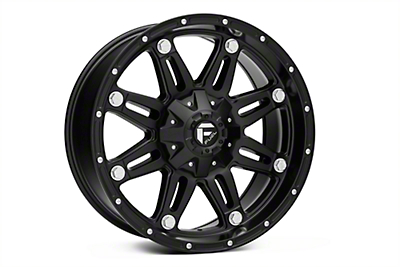 Fuel Wheels Hostage Matte Black 5-Lug Wheel - 20x9 (02-18 RAM 1500, Excluding Mega Cab)