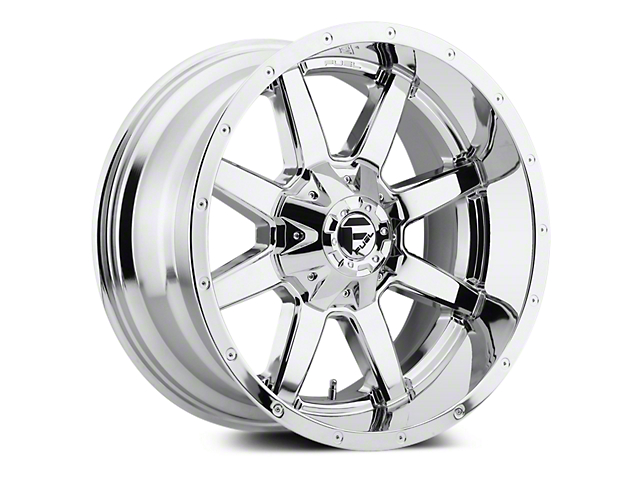 Fuel Wheels Maverick Chrome 5-Lug Wheel - 20x10 (02-18 RAM 1500, Excluding Mega Cab)