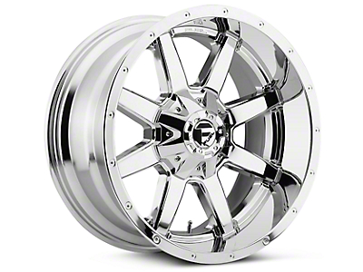 Fuel Wheels Maverick Chrome 5-Lug Wheel - 20x9 (02-18 RAM 1500, Excluding Mega Cab)