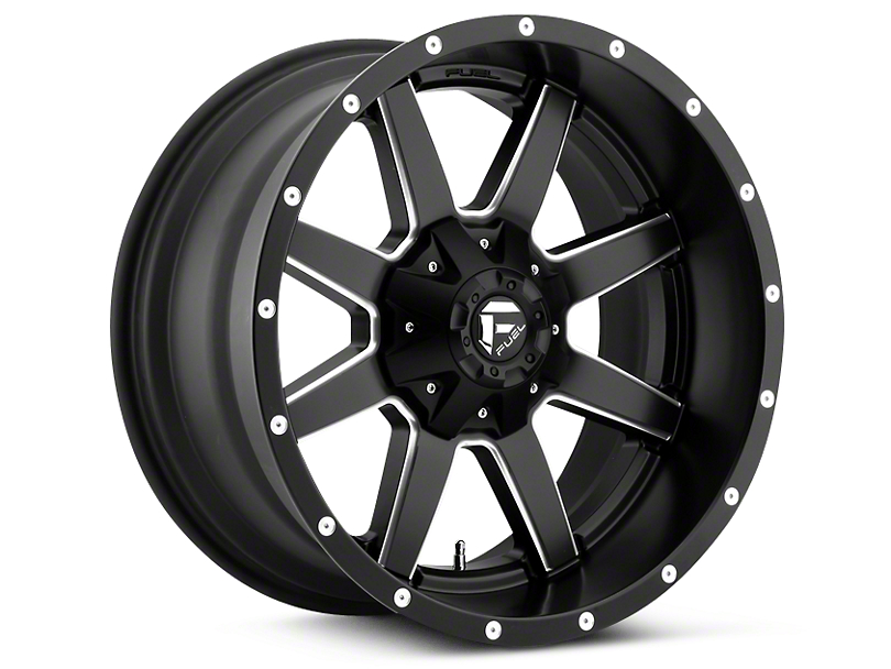 Fuel Wheels Maverick Black Milled 5-Lug Wheel - 18x9 (02-18 RAM 1500, Excluding Mega Cab)