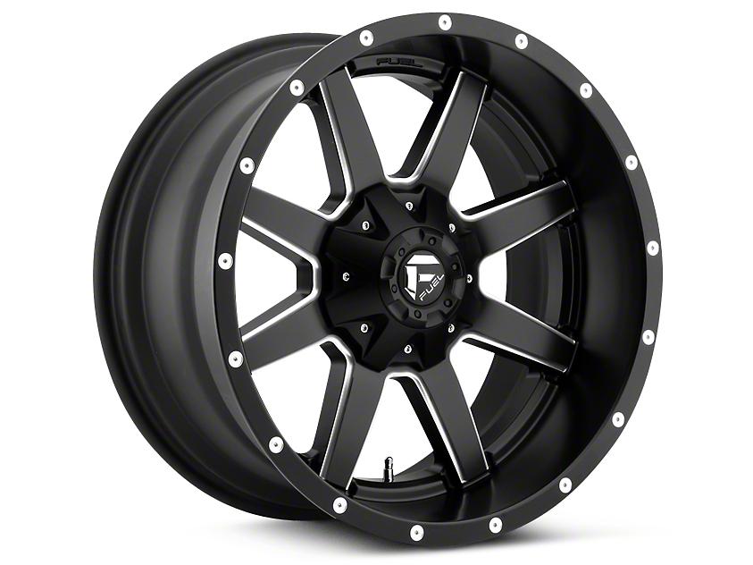 Fuel Wheels Maverick Black Milled 5-Lug Wheel - 18x9 (02-18 RAM 1500, Excluding Mega Cab)