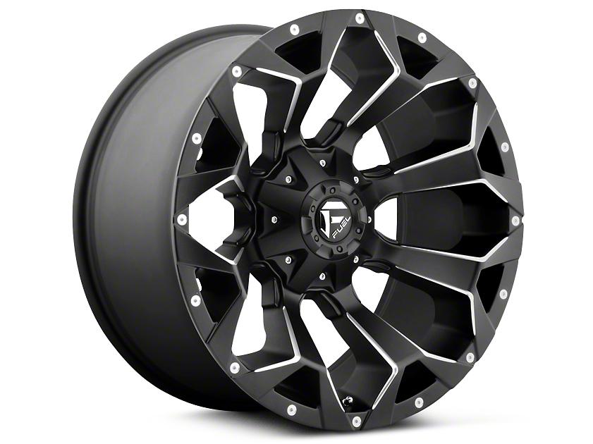 Fuel Wheels Assault Black Milled 5-Lug Wheel - 17x8.5 (02-18 RAM 1500, Excluding Mega Cab)