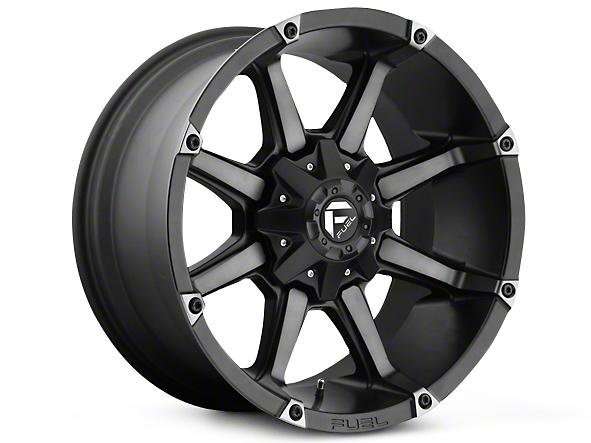 Fuel Wheels Coupler Black Machined 5-Lug Wheel - 20x9 (02-18 RAM 1500, Excluding Mega Cab)