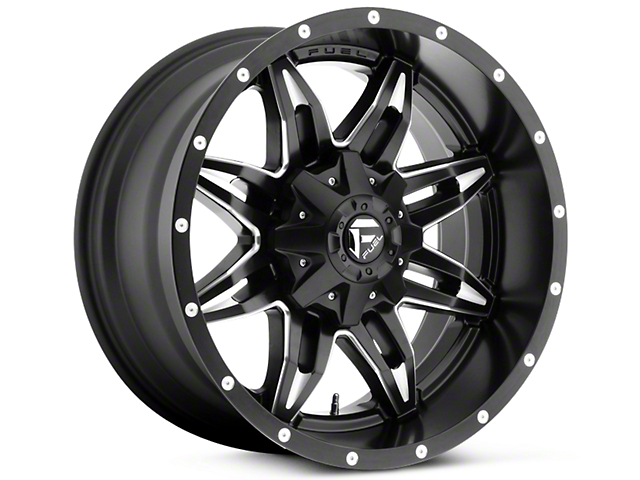 Fuel Wheels Lethal Black Milled 5-Lug Wheel - 18x9 (02-18 RAM 1500, Excluding Mega Cab)